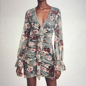 Amanda Uprichard Beaumont Floral Boho Dress